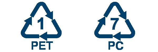 Маркировка полиэтилена и поликарбоната